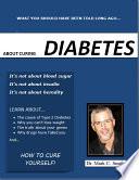 How to Cure Type 2 Diabetes Pdf/ePub eBook