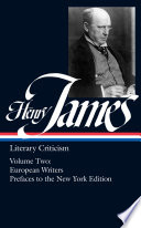 Literary Criticism French Writers Other European Writers The Prefaces To The New York Edition