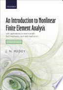 An Introduction To Nonlinear Finite Element Analysis Book PDF
