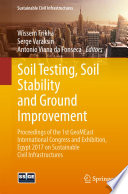 Soil Testing, Soil Stability and Ground Improvement