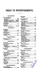Lord & Thomas and Logan Pocket Directory of the American Press