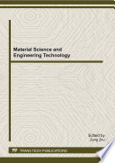 Material Science And Engineering Technology Book PDF