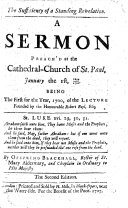 The Sufficiency of a Standing Revelation in general, and of the Scripture Revelation in particular ... and that new revelations cannot reasonably be desired ... In eight sermons, preach'd ... at the lecture founded by the Honourable Robert Boyle, etc