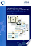 International Perspectives on Teaching and Learning in Higher Education