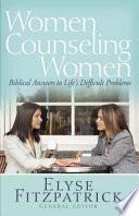 Women Counseling Women Book PDF