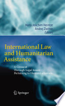 International Law and Humanitarian Assistance