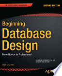 """""""Beginning Database Design: From Novice to Professional"""" by Clare Churcher"""
