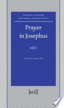 Prayer in Josephus Book