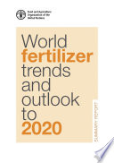 World fertilizer trends and outlook to 2020