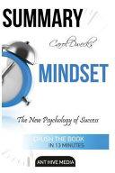 Carol Dweck s Mindset Book