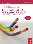 Design and Verification of Electrical Installations