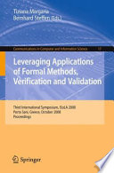 Leveraging Applications of Formal Methods  Verification and Validation