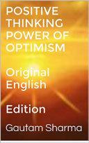 POSITIVE THINKING ,POWER OF OPTIMISM Pdf/ePub eBook