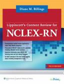 LWW NCLEX-RN 10,000 / Billings Lippincott's Content Review for NCLEX-RN