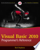 Visual Basic 2010 Programmer S Reference