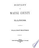 History of Wayne County  Illinois Book PDF
