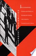 Divergent Modernities Book