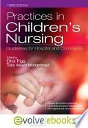 Practices in Children's Nursing
