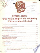 Child Abuse Neglect And The Family Within A Cultural Context Book PDF