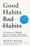 Good Habits  Bad Habits Book