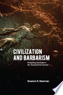 Civilization and Barbarism Book