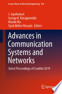 Advances in Communication Systems and Networks