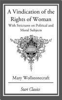 A Vindication of the Rights of Woman [Pdf/ePub] eBook
