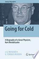 Going for Cold Book