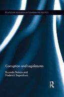 Corruption and Legislatures [Pdf/ePub] eBook