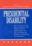 Presidential Disability