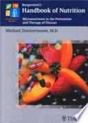 Burgerstein s Handbook of Nutrition