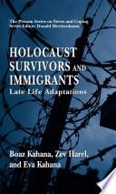 Holocaust Survivors and Immigrants