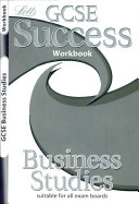Gcse Success Workbook Business Std