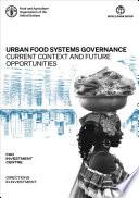 Urban food systems governance Book