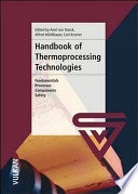 Handbook of Thermoprocessing Technologies