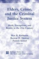 Elders, Crime, and the Criminal Justice System Pdf/ePub eBook