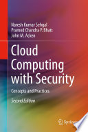 Cloud Computing with Security Book