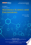 Proceedings of 9th World Congress on Materials Science and Engineering 2017 Book