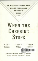 When the Cheering Stops Book