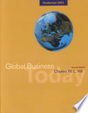 Global Business Today Postscript 2003, Map and Powerweb