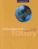Global Business Today Postscript 2003  Map and Powerweb