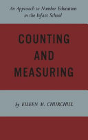 Counting and Measuring