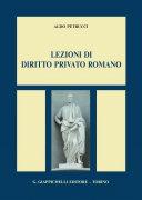 Lezioni di diritto privato romano