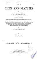 Penal Code and Statutes