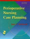 Perioperative Nursing Care Planning