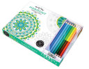 Vive Le Color  Harmony  Adult Coloring Book and Pencils  Book PDF