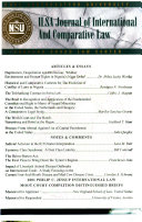 Ilsa Journal Of International Comparative Law