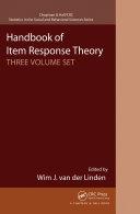 Handbook of Item Response Theory Pdf