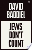 Jews Don   t Count Book PDF