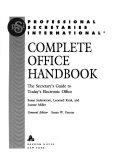 Professional Secretaries International Complete Office Handbook